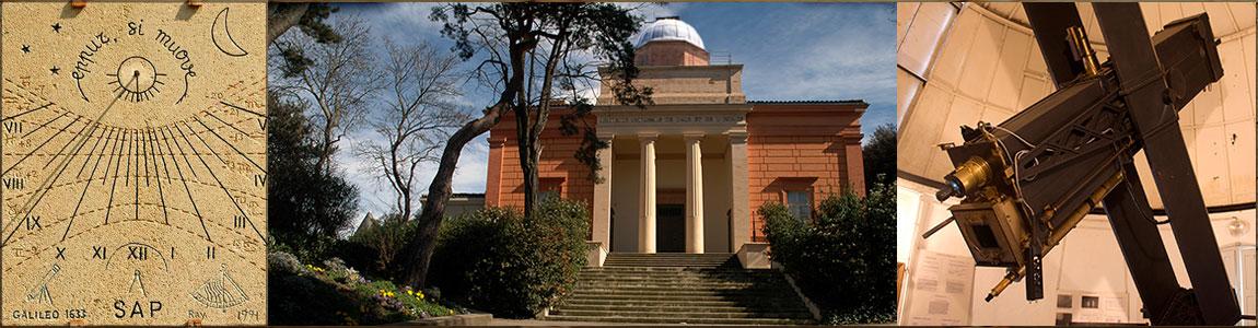 Visites de groupe de l'observatoire