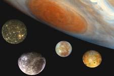Les satellites de Jupiter