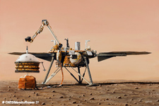 Sismomètre Français sur Mars