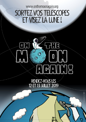 Affiche On the Moon again