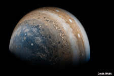 Jupiter vue par Juno