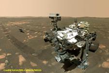 Le rover Perseverance sur Mars
